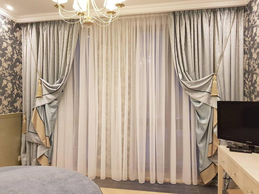 Эксклюзивные шторы из европейских тканей для стильной девушки, дизайн и шторы на заказ