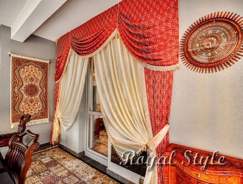 Шторы на балкон в квартире от Royal Style!, дизайн и шторы на заказ