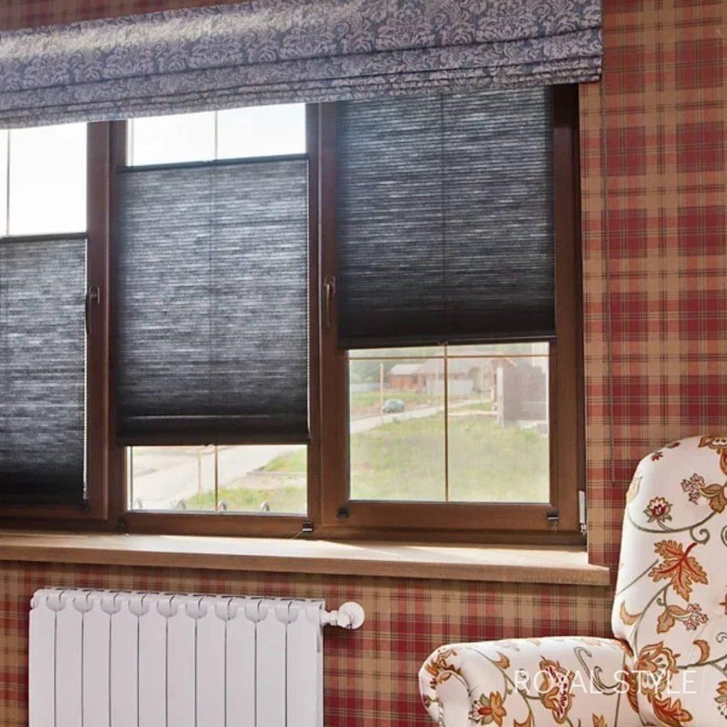 Следующая комната из нашего проекта, дизайн и шторы на заказ