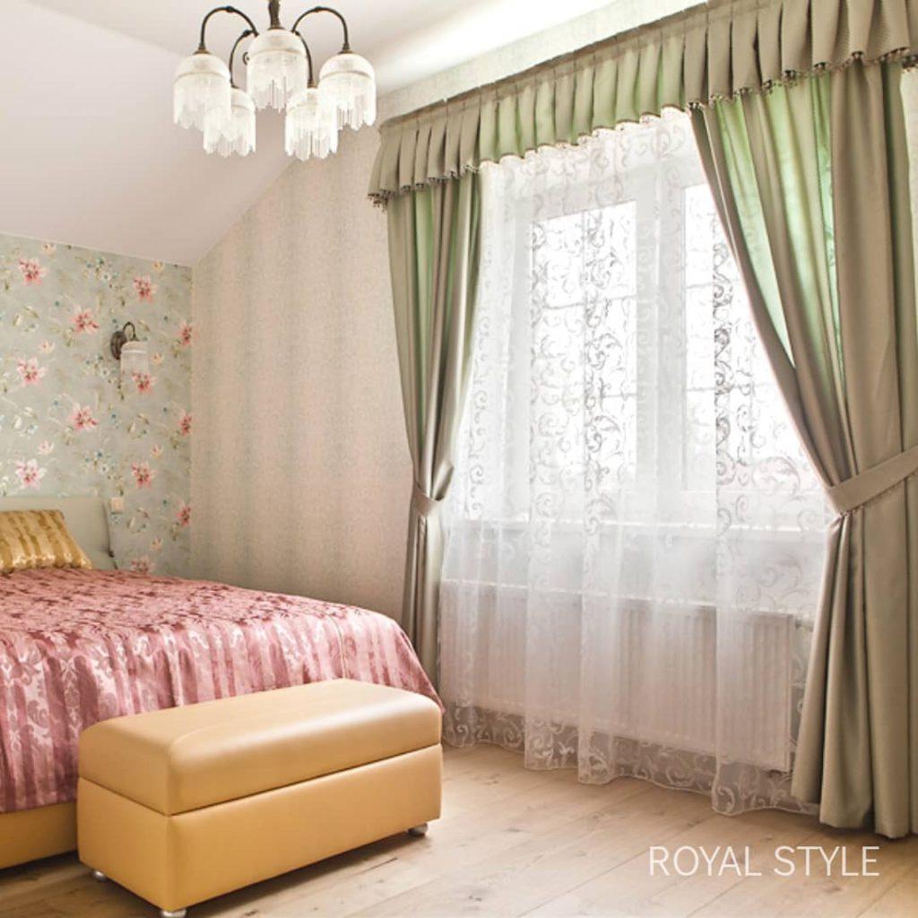 ЖК Алые Паруса, дизайн и шторы на заказ