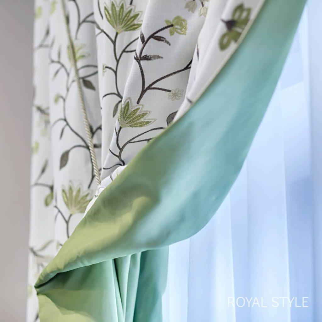 Подклад для штор, дизайн и шторы на заказ