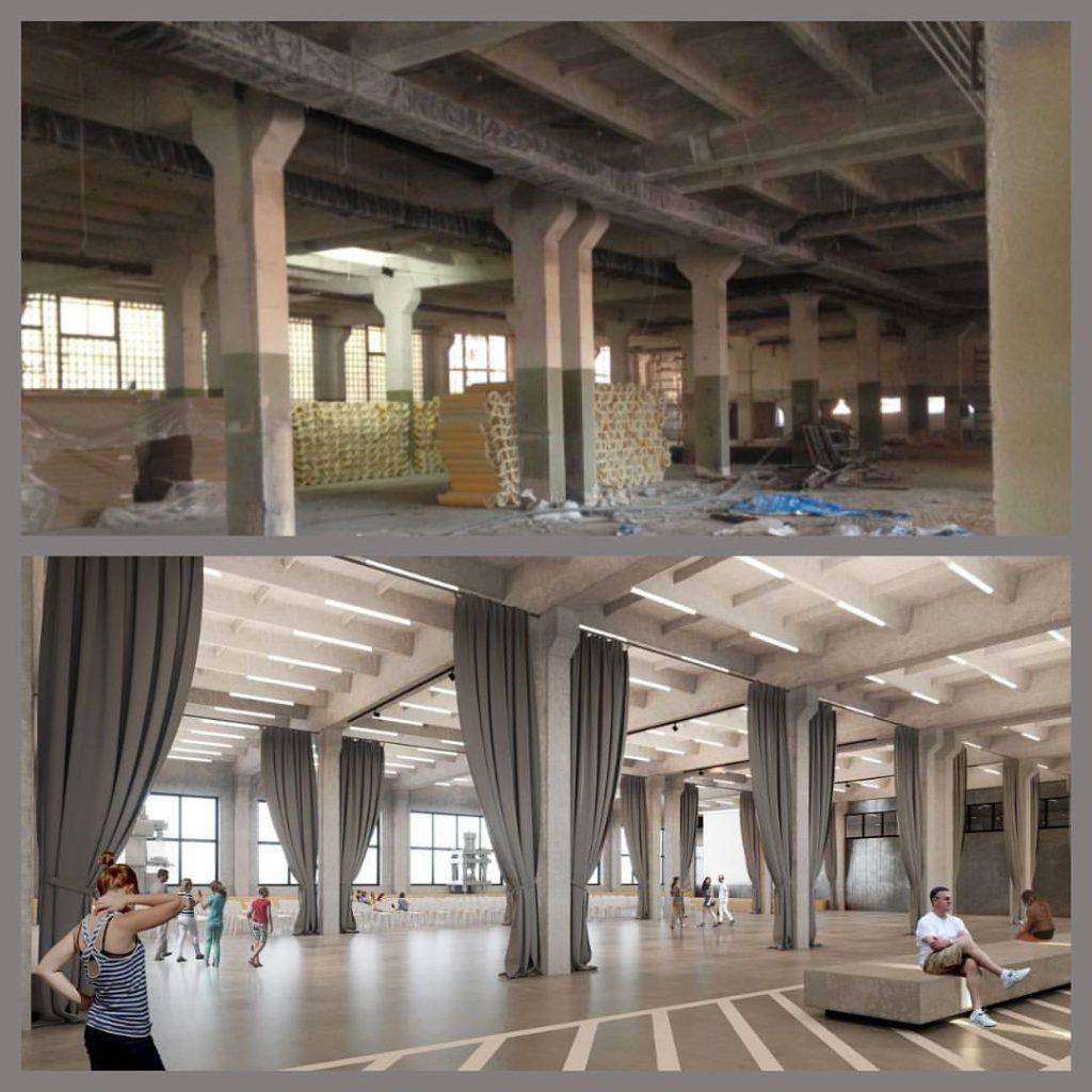 Шторы в общественное помещение, дизайн и шторы на заказ