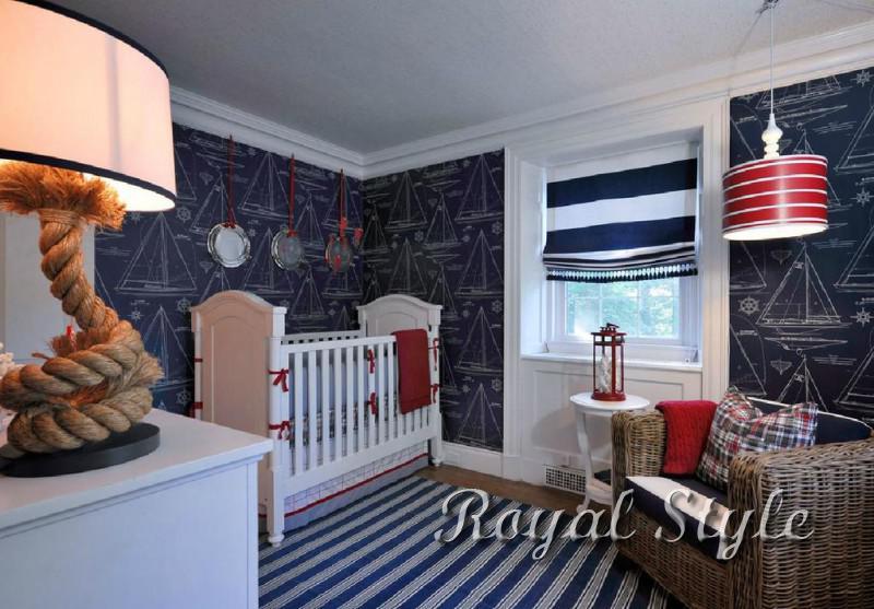 Шторы для новорожденных, дизайн и шторы на заказ