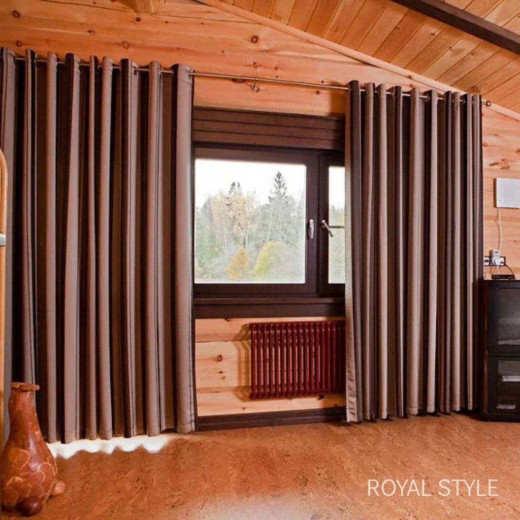 Типичная ситуация, дизайн и шторы на заказ