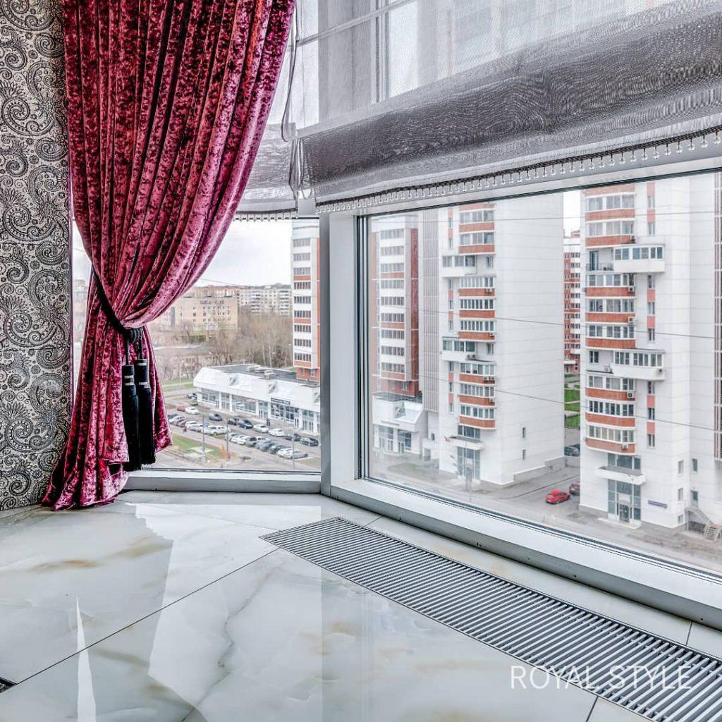 Жилой дом премиум-класса «Резиденция Монэ», дизайн и шторы на заказ