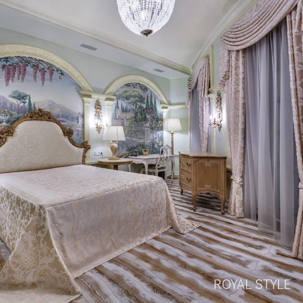 Еще одна спальня, дизайн и шторы на заказ
