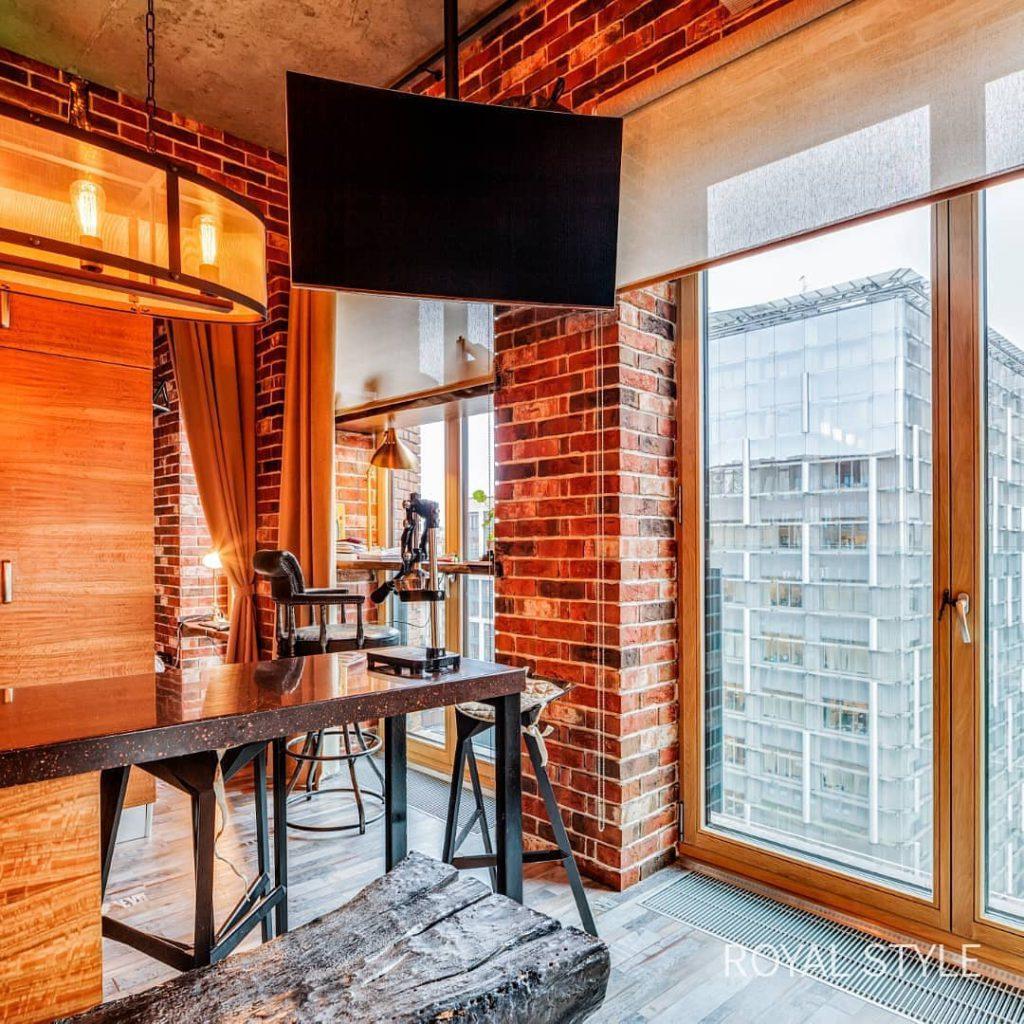 Лофт L8 Studio, дизайн и шторы на заказ