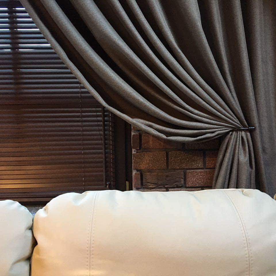 Шторы в загородный дом, дизайн и шторы на заказ