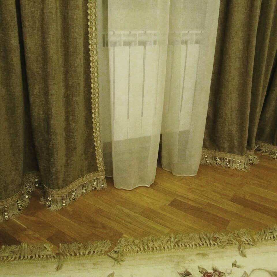 Обновили подсевшие шторы, дизайн и шторы на заказ