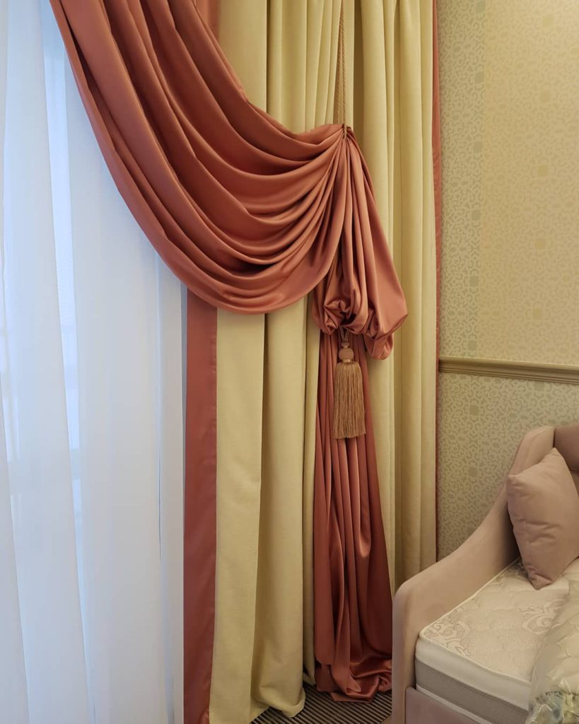 Оформление детской комнаты в Москве, дизайн и шторы на заказ