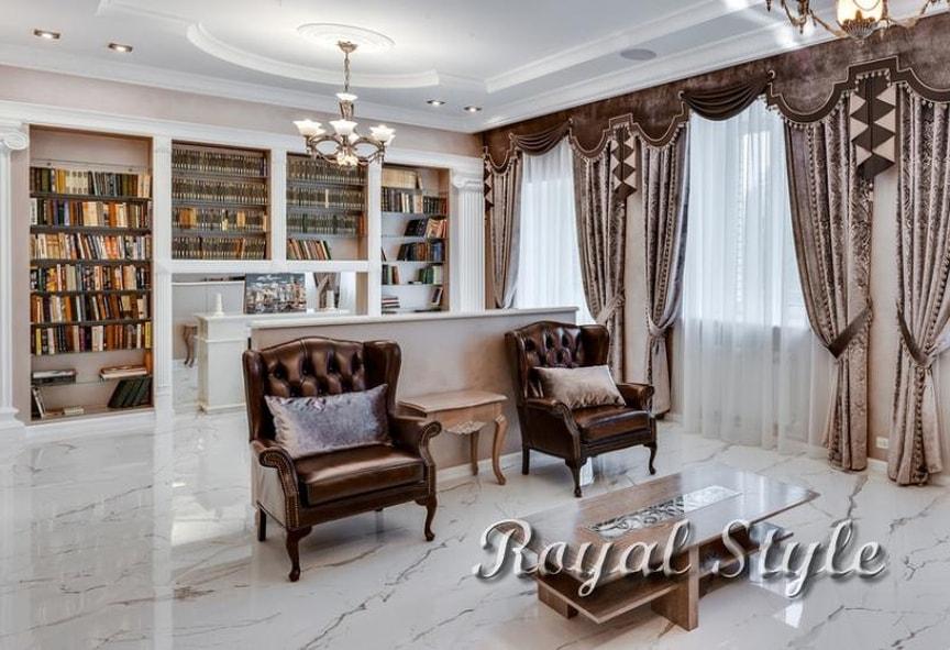 """Таунхаус в СНТ """"Десна""""., дизайн и шторы на заказ"""