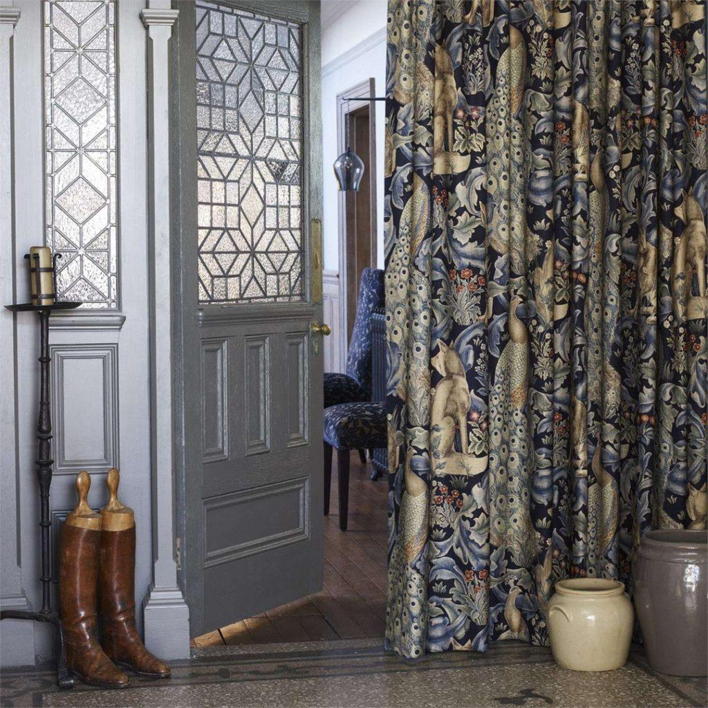 Представляем вам Английскую компанию Morris&Co, дизайн и шторы на заказ