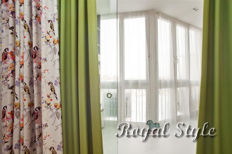 Яркие летние шторы для детской, дизайн и шторы на заказ