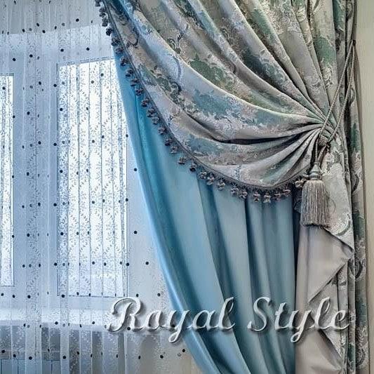 Шторы для гостиной, дизайн и шторы на заказ