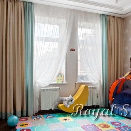 Шторы в детскую комнату, дизайн и шторы на заказ