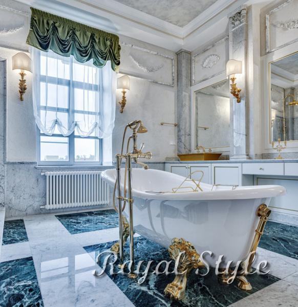 Легкий декоративный текстиль в ванную комнату, дизайн и шторы на заказ
